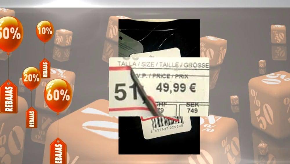 """Frame 10.228225 de: En plenas rebajas hay que estar atentos a las """"ofertas con trampa"""""""