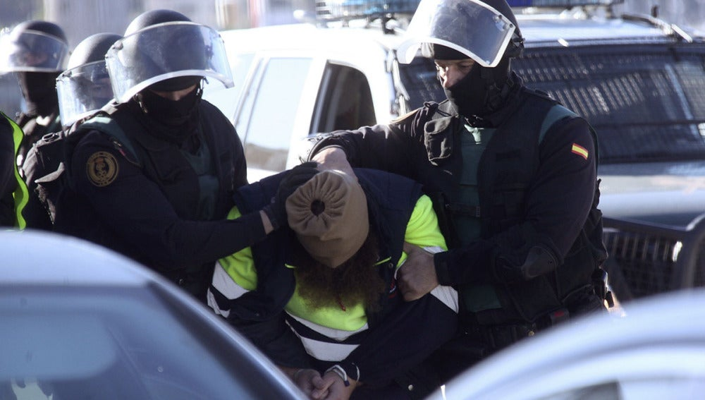 Uno de los detenidos en Ceuta