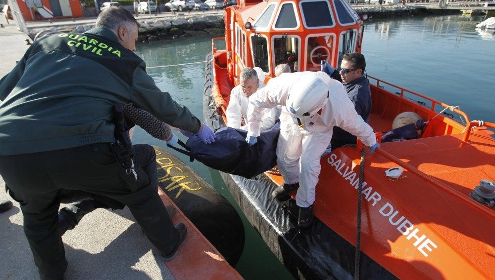 Cadáveres encontrados en la costa de Cádiz