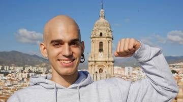 Pablo Ráez, el joven que lucha por conseguir un millón de donantes de médula en España