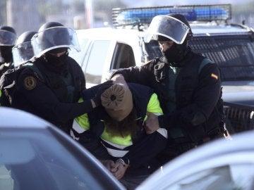 Yihadistas detenidos en Ceuta