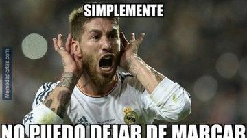 Ramos, carne de memes