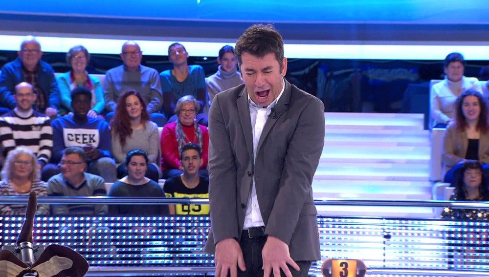 Mario Vaquerizo en 'Ahora Caigo'