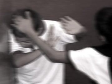 Recreación de una escena de bullying