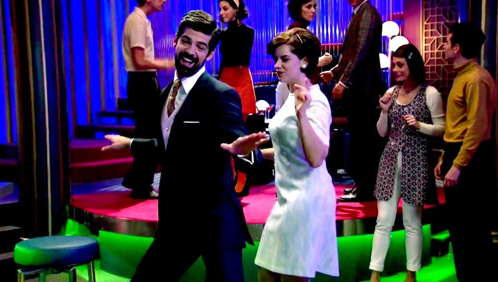Ritmo y locura en el apasionante baile de Marta y Alonso