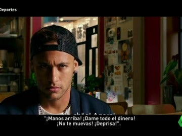 Frame 12.356666 de: Neymar se pasa al cine