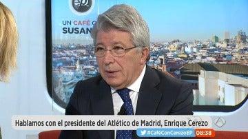 Enrique Cerezo, en Espejo Público
