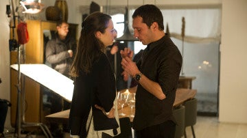 Leonor Watling y Pablo Derqui en la secuencia