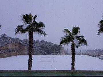 El campo de entrenamiento del CSKA en Orihuela