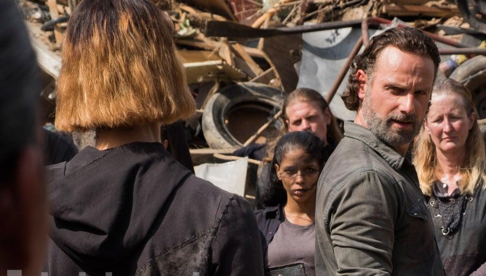 Rick Grimes en 'The Walking Dead'