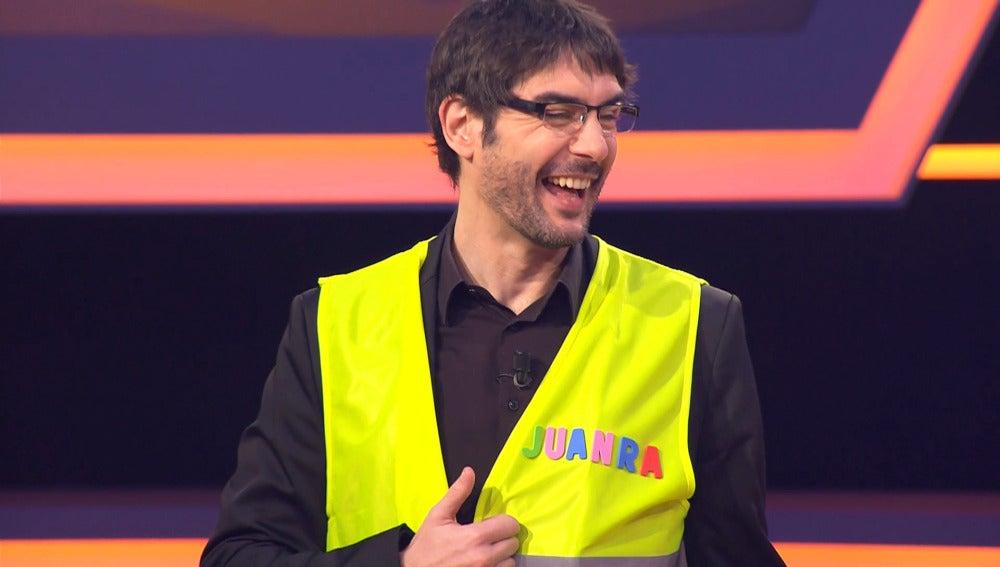 Juanra, jefe de emergencias
