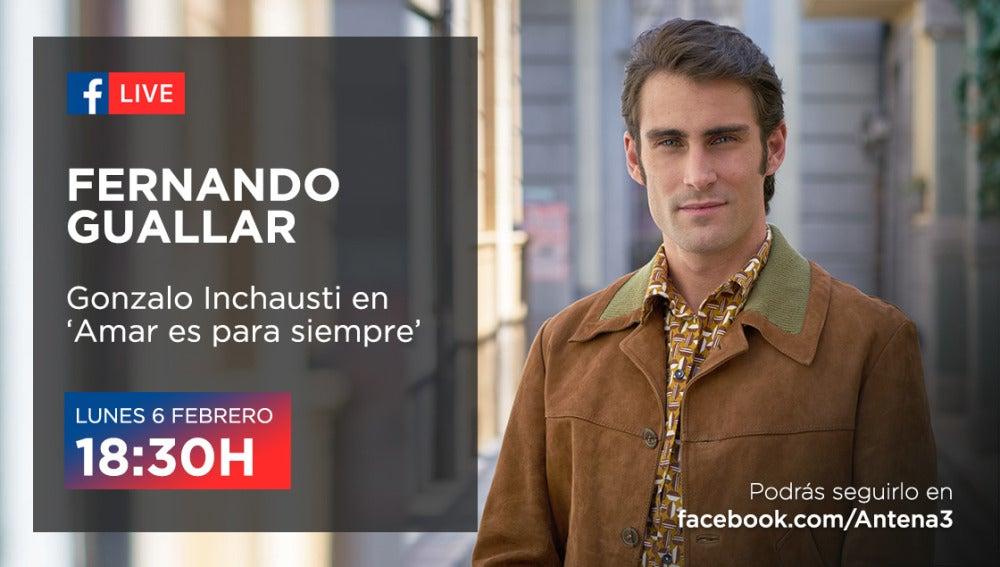 Fernando Guallar en Facebook Live