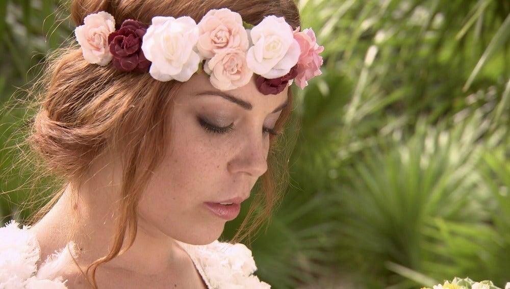 Samantha sufre un ataque de pánico antes de llegar al altar