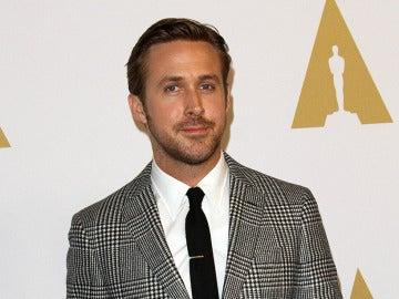 Ryan Gosling en el almuerzo de nominados a los Oscar
