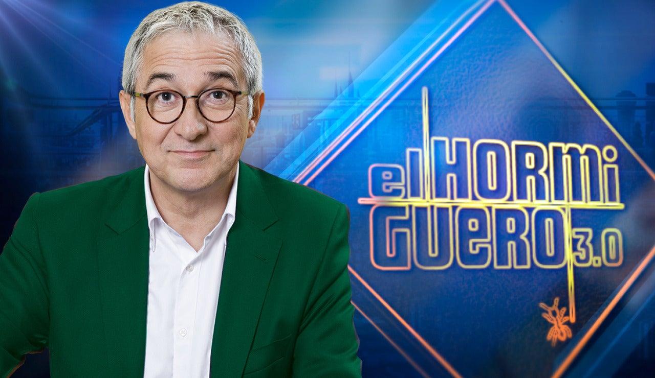 Xavier Sardá presenta su nuevo libro en 'El Hormiguero 3.0'