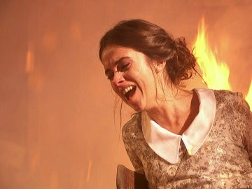 Beatriz y Hernando, quemados por el intencional fuego de Damián