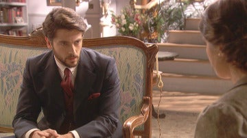 Hernando obliga a Beatriz a tener una buena relación con Damián