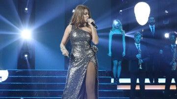 Lorena Gómez se hace fuerte y grita 'The show must go on' como Céline Dion