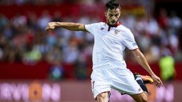El centrocampista del Sevilla, Pablo Sarabia.