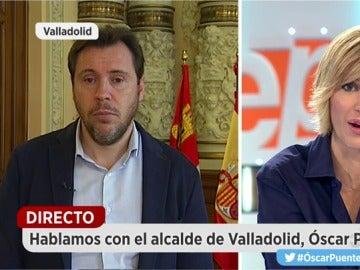 Óscar Puente, alcalde de Valladolid