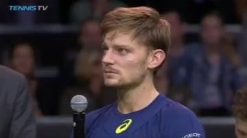 David Goffin, tenista