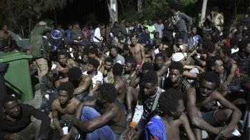 Migrantes en Ceuta (Archivo)