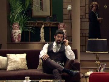 Ana María escucha una conversación comprometida de Alonso