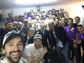 El selfie de Sergio Llull
