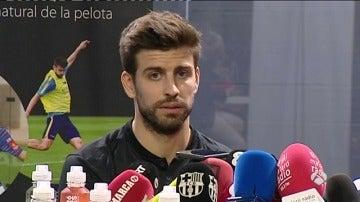 """Frame 31.081666 de: Piqué: """"Cuando llegó Luis Enrique, estábamos en la mierda absoluta"""""""