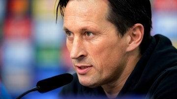 Roger Schmidt, entrenador del Bayer Leverkusen