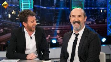 """Las juergas de Javier Cámara en la casa de Jude Law: """"Llamé a todos mis amigos, fueron unas bacanales romanas"""""""