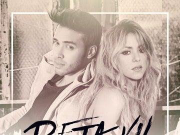 Portada de 'Deja Vu'', el tema de Prince Royce & Shakira