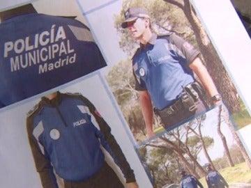 Frame 50.478968 de: La policía municipal de Madrid estrena uniforme