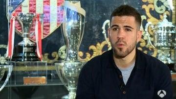 Álvaro Domínguez, exjugador del Atlético de Madrid