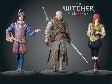 The Witcher 3 figuras