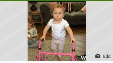Campaña para ayudar a que Poppy recupere la movilidad