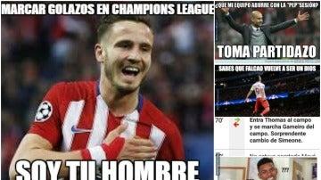 Los memes de la jornada de Champions League