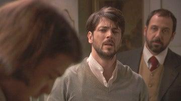 "Hernando se enfrenta a Damián: ""Aquí el maldito eres tú"""