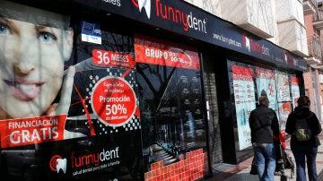 Una de las clínicas de Funnydent en Madrid