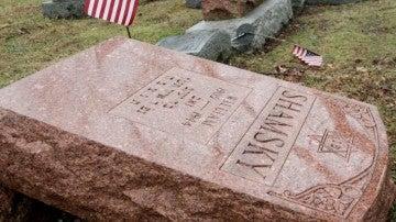 Cementerio judío profanado en St Louis, en Estados Unidos