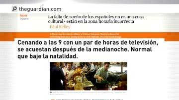 Frame 32.142221 de: Un investigador de Oxford genera todo tipo de reacciones con su descripción del perfil del español