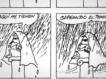 Frame 37.791798 de: Peridis lleva cuarenta años analizando la política española sólo con sus dibujos