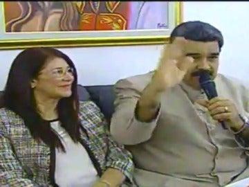 """Frame 8.408494 de: Nicolás Maduro: """"Espero estar pronto en España con mi gran amigo Mariano Rajoy"""""""