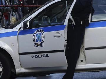 Agentes de policía griegos
