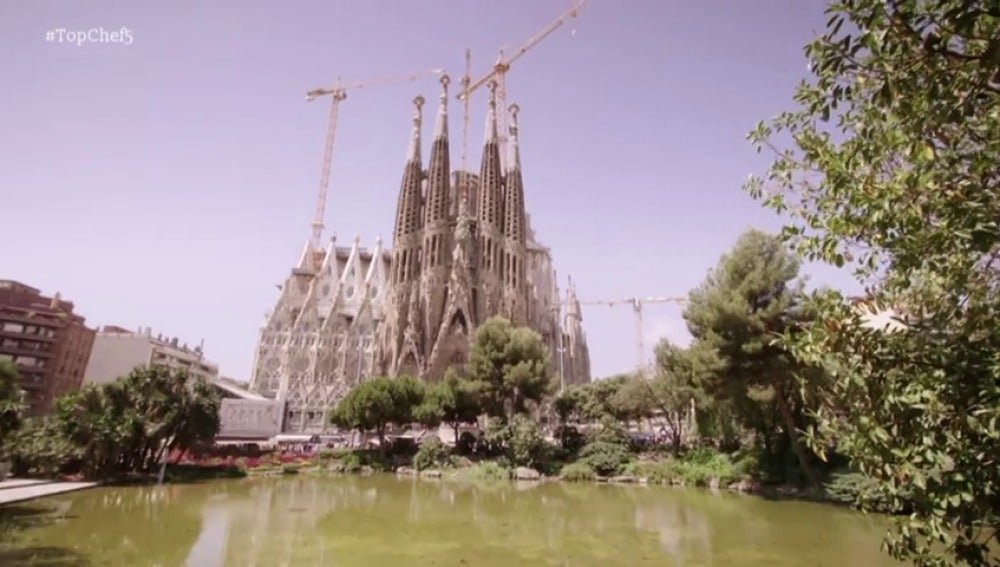 Frame 10.930489 de: La sagrada familia recibe a 'Top Chef'