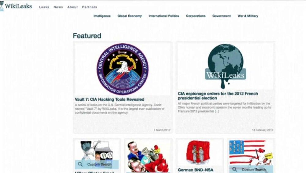Frame 0.0 de: WikiLeaks filtra miles de documentos de un programa secreto de 'hacking' de la CIA