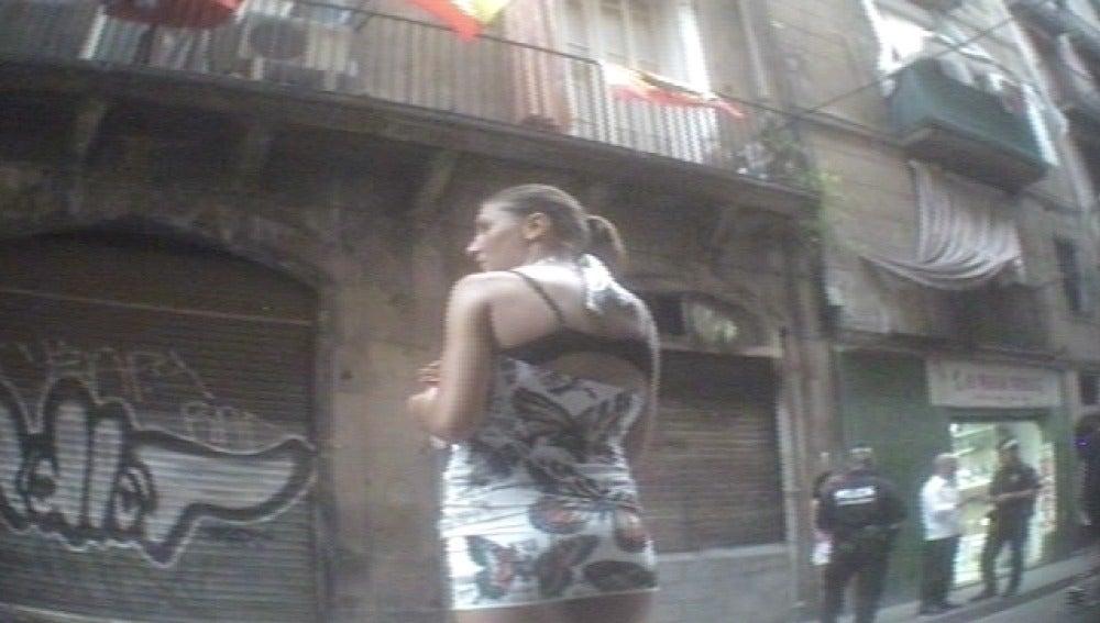 Una prostituta en Barcelona