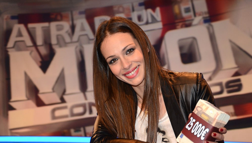Eva González en Atrapa un millón