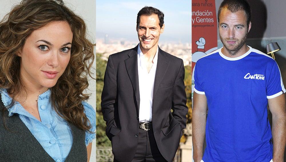 Marta Hazas, Manuel Banderas y Carles Francino