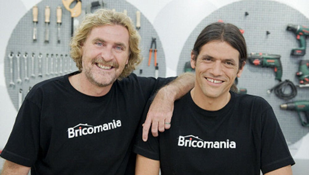 Kristian Pielhoff e Iñigo Segurola, al frente de Bricomanía